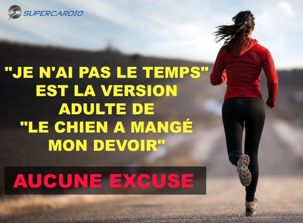 AUCUNE EXCUSE CITATION FITNESS SUPECARDIO