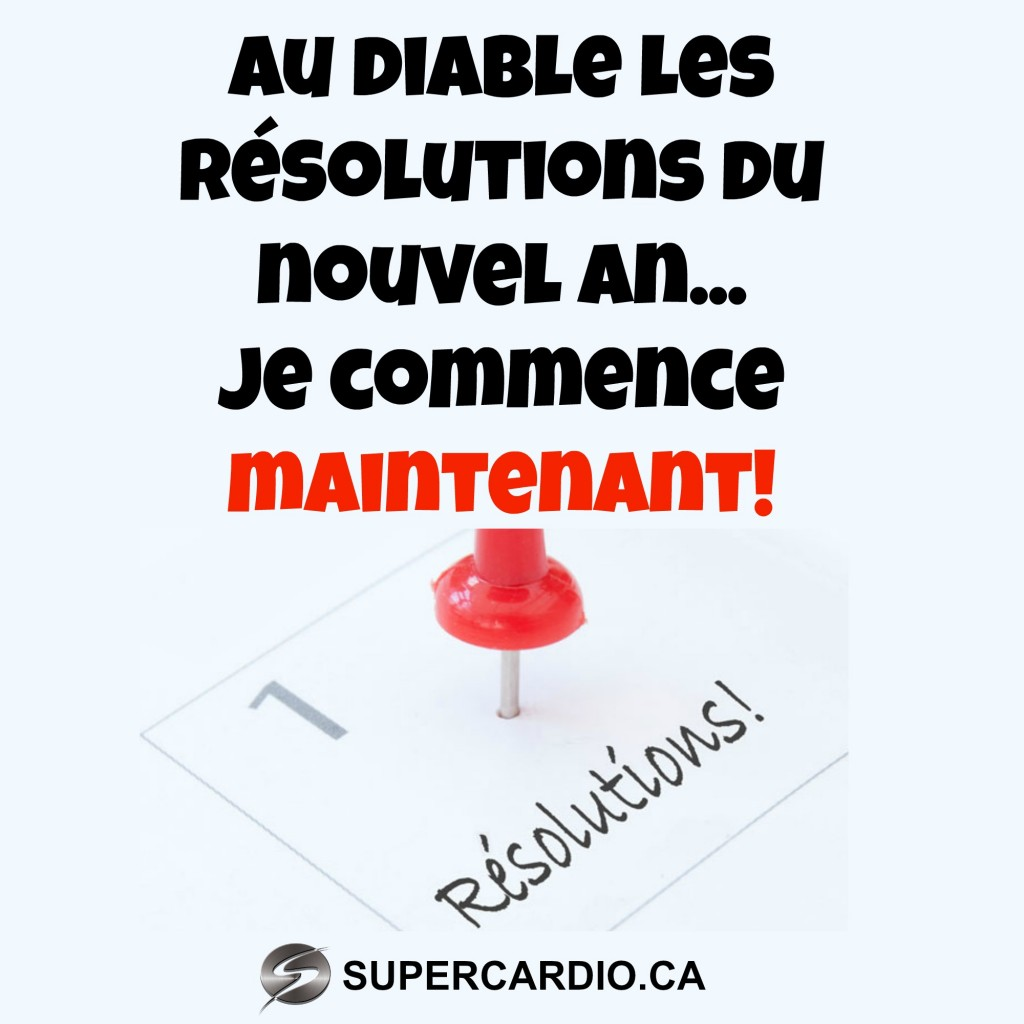 RESOLUTION NOUVEL AN CITATION FITNESS SUPERCARDIO