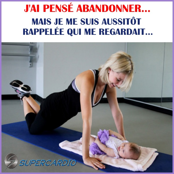 abandonné bébé citation fitness supercardio