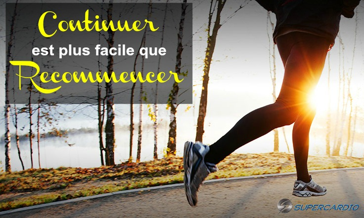 continuer vs recommencer citation fitness supercardio