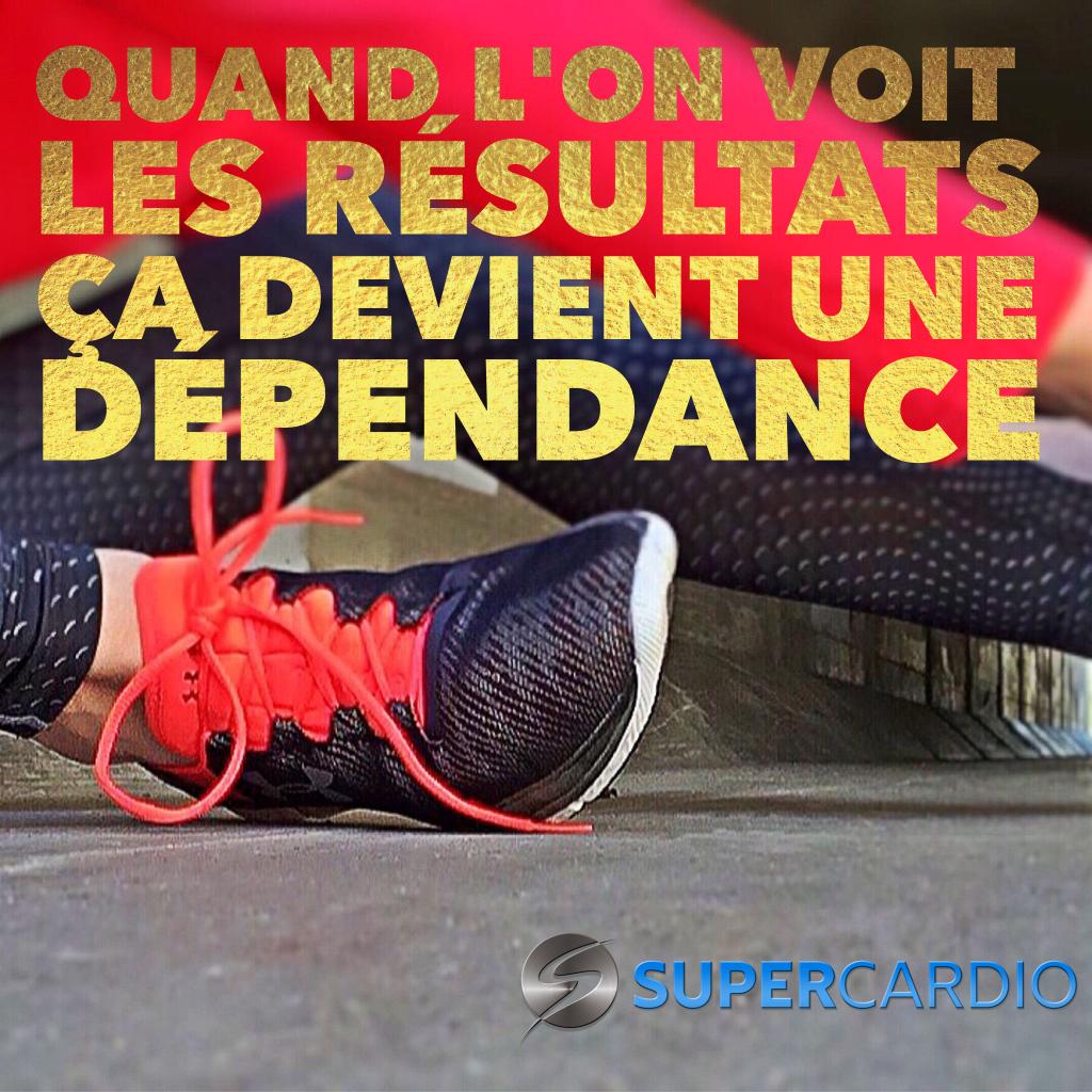 dependance exercice supercardio