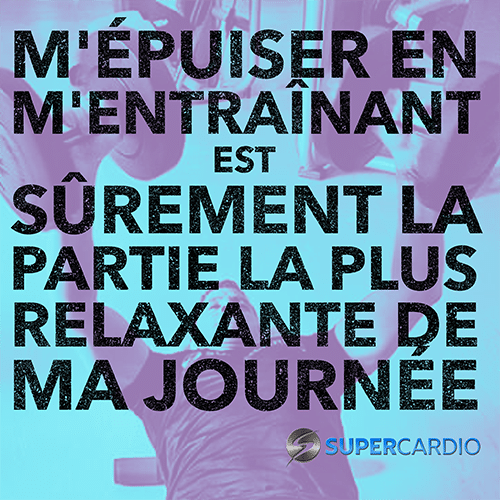 epuise entrainement relaxant supercardio citation fitness
