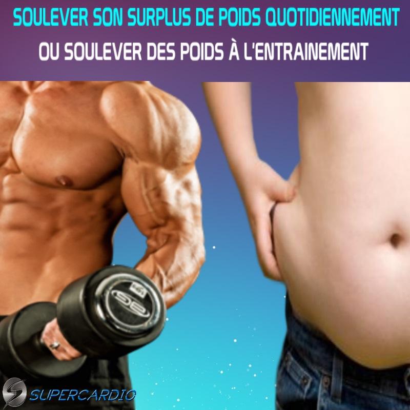 poids vs surplus poids fitness motivation