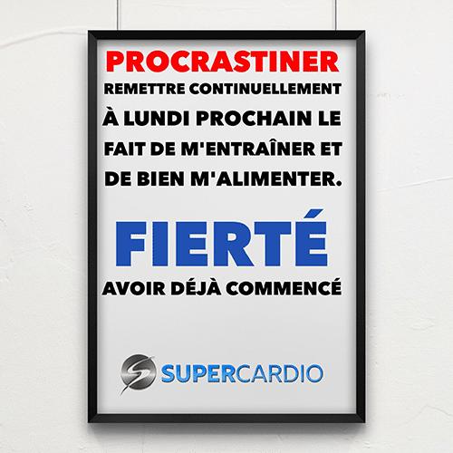 procrastiner vs fierte supercardio citation fitness
