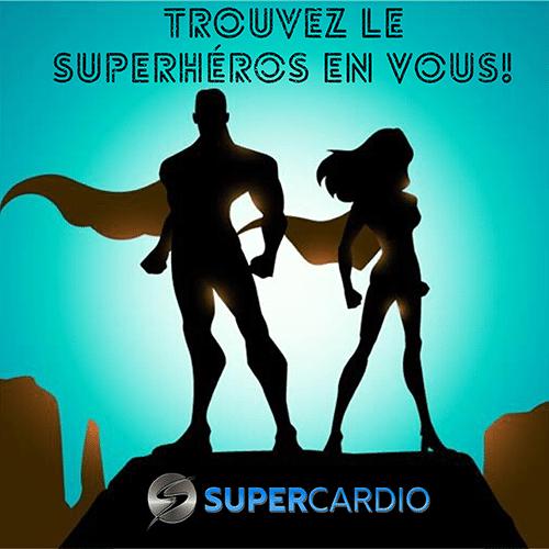 superheros citation motivation fitness supercardio