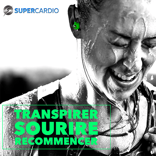 transpirer sourire recommencer supercardio citation fitness