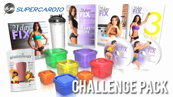 21 day fix challenge pack supercardio