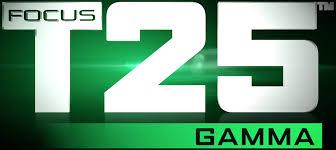 focus t25 gamma
