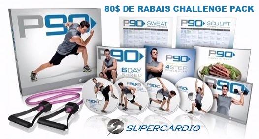 p90 coffret supercardio RABAIS