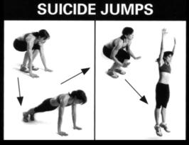 suicide jumps