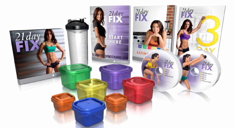 coffret 21 day fix