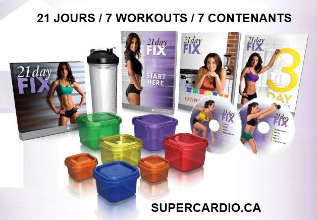 21 day 7 workout 7 containers