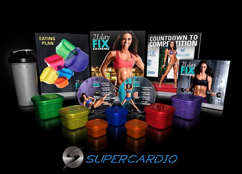 21 day fix extreme package supercardio