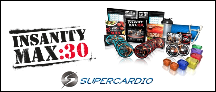 coffret insanity max 30 supercardio