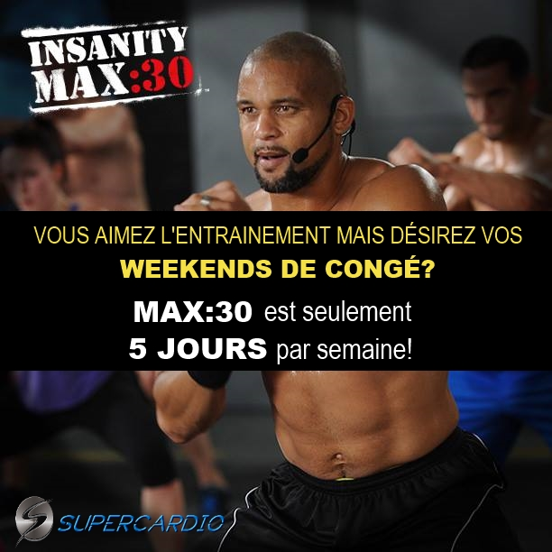 5 jours max out