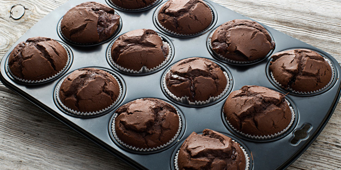 Muffin Brownie sans farine