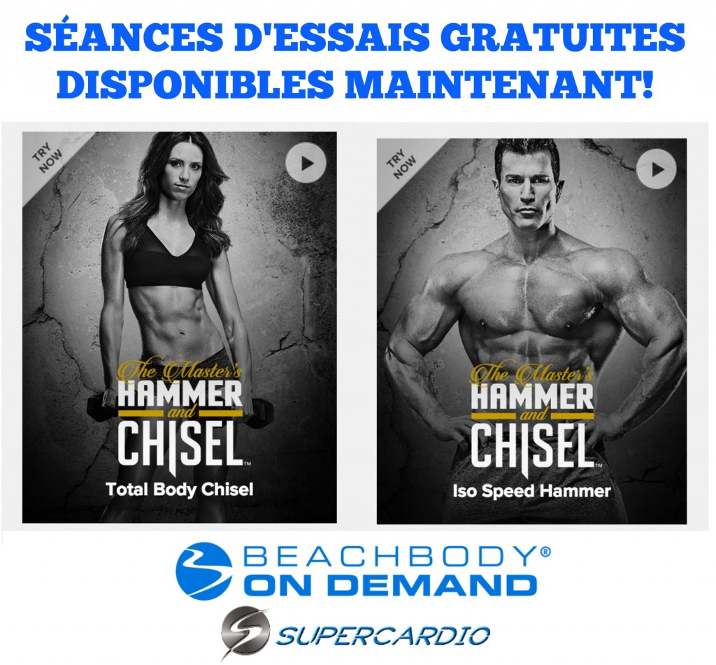 HAMMER AND CHISEL GRATUIT SUPERCARDIO