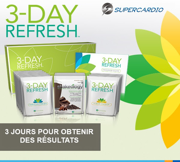 3 DAY REFRESH supercardio