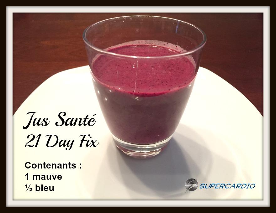 Smoothie Ananas-Cerises-Bleuets et lait de Coco