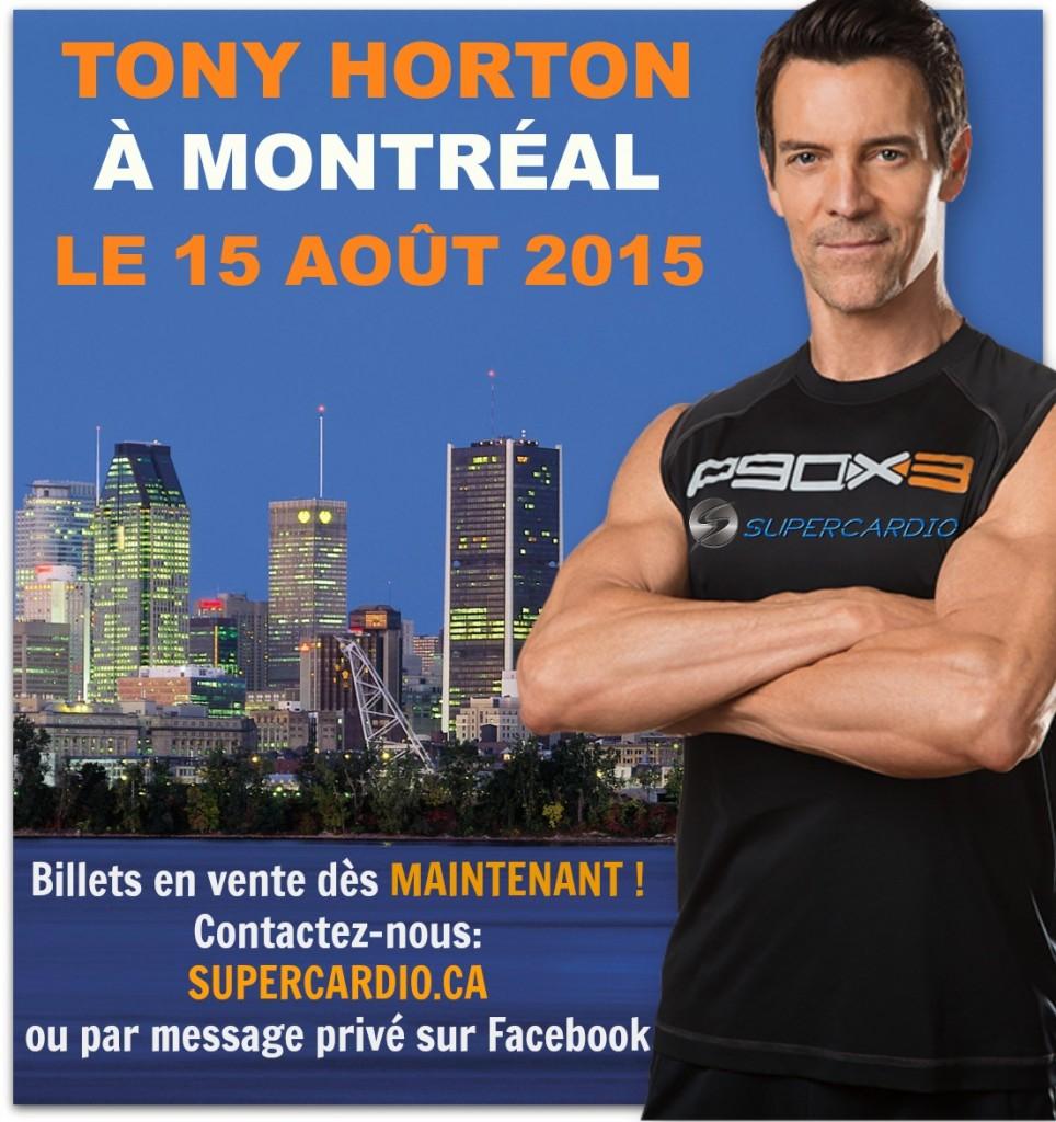 Tony Horton à Montréal