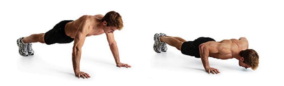 push-ups larges