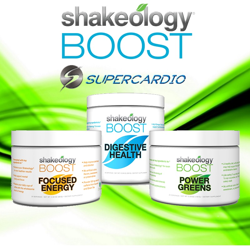 Boost shakeology supercardio