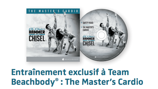 The Masters Cardio Beachbody hammer & Chisel Supercardio