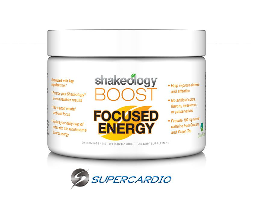 focused energy boost shakeology supercardio