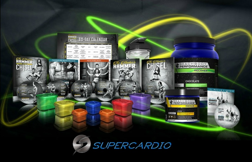 hammer & chisel performance challenge pack supercardio