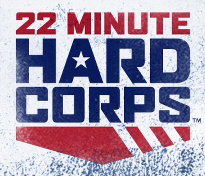 22 minute hard corps logo supercardio