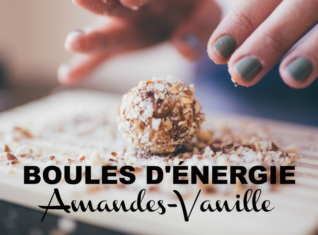 boules energie amandes vanille supercardio