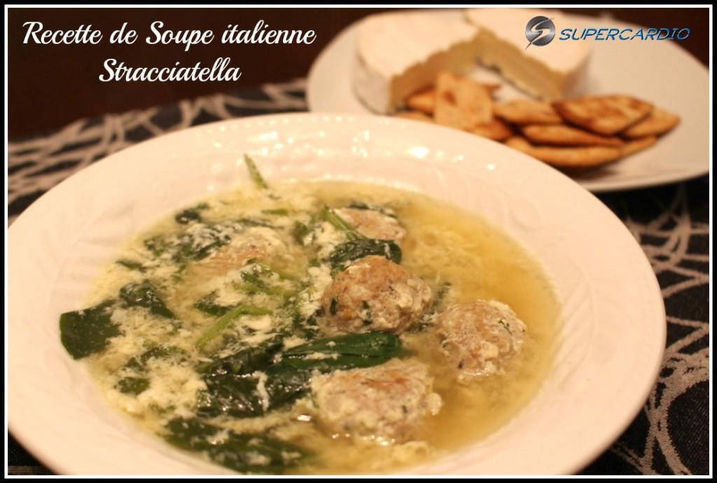 soupe italienne stracciatella supercardio