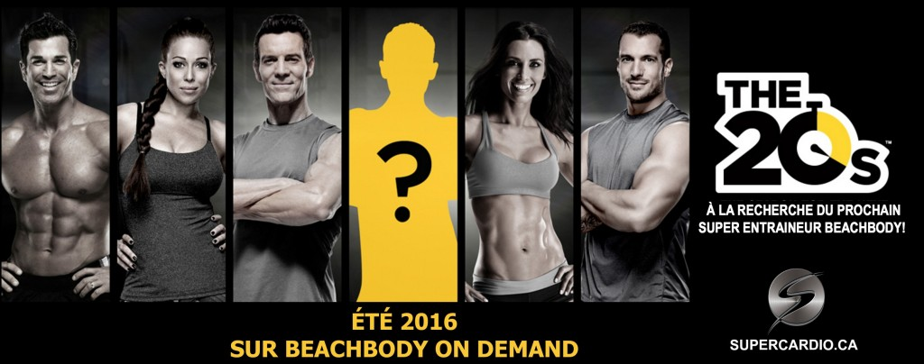 THE 20S entraineur beachbody supercardio tele realite