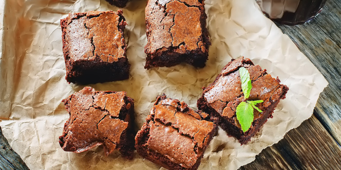 Brownies chocolatés avec avocat