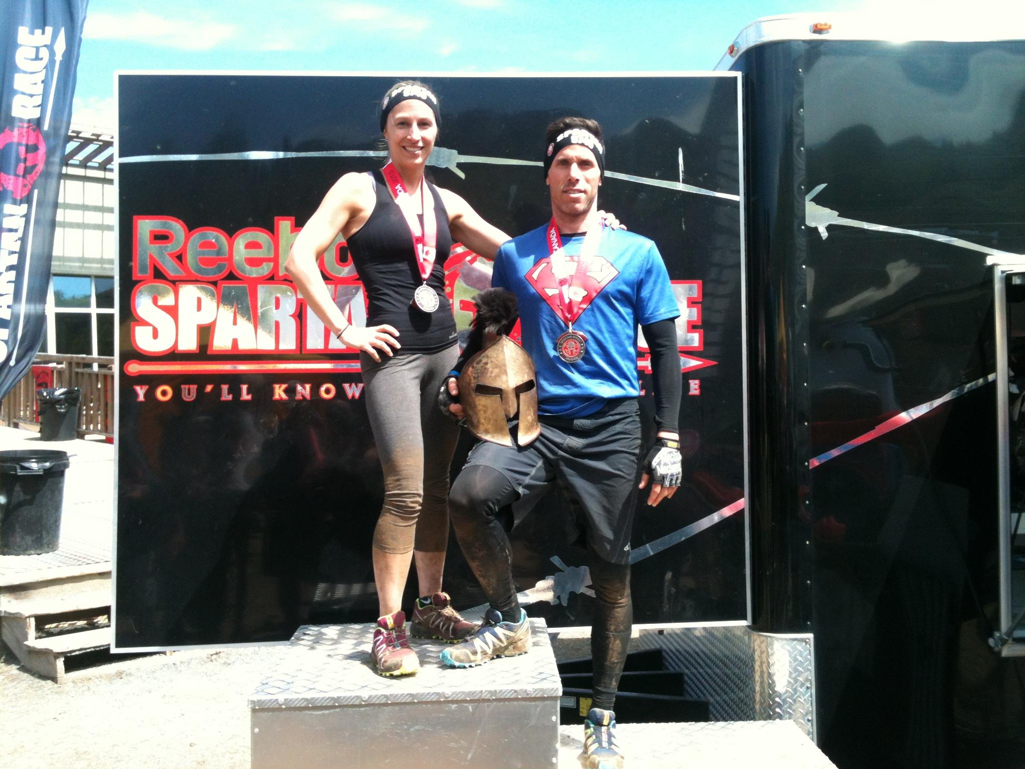 Calendrier d'entrainement préparation Spartan Race