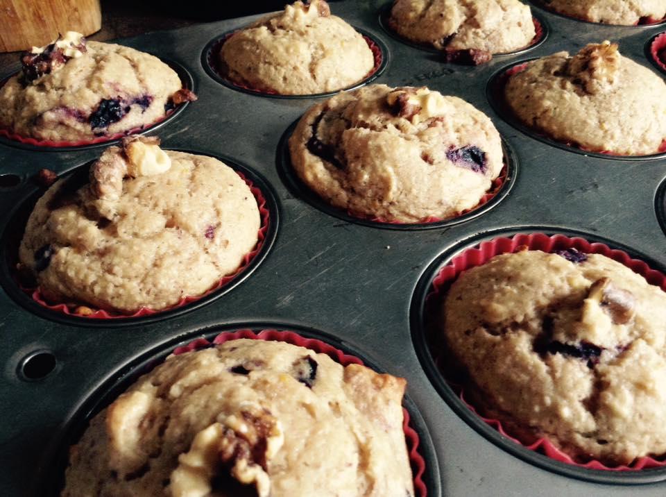muffins sante orange cerise vegetalien sans gluten supercardio