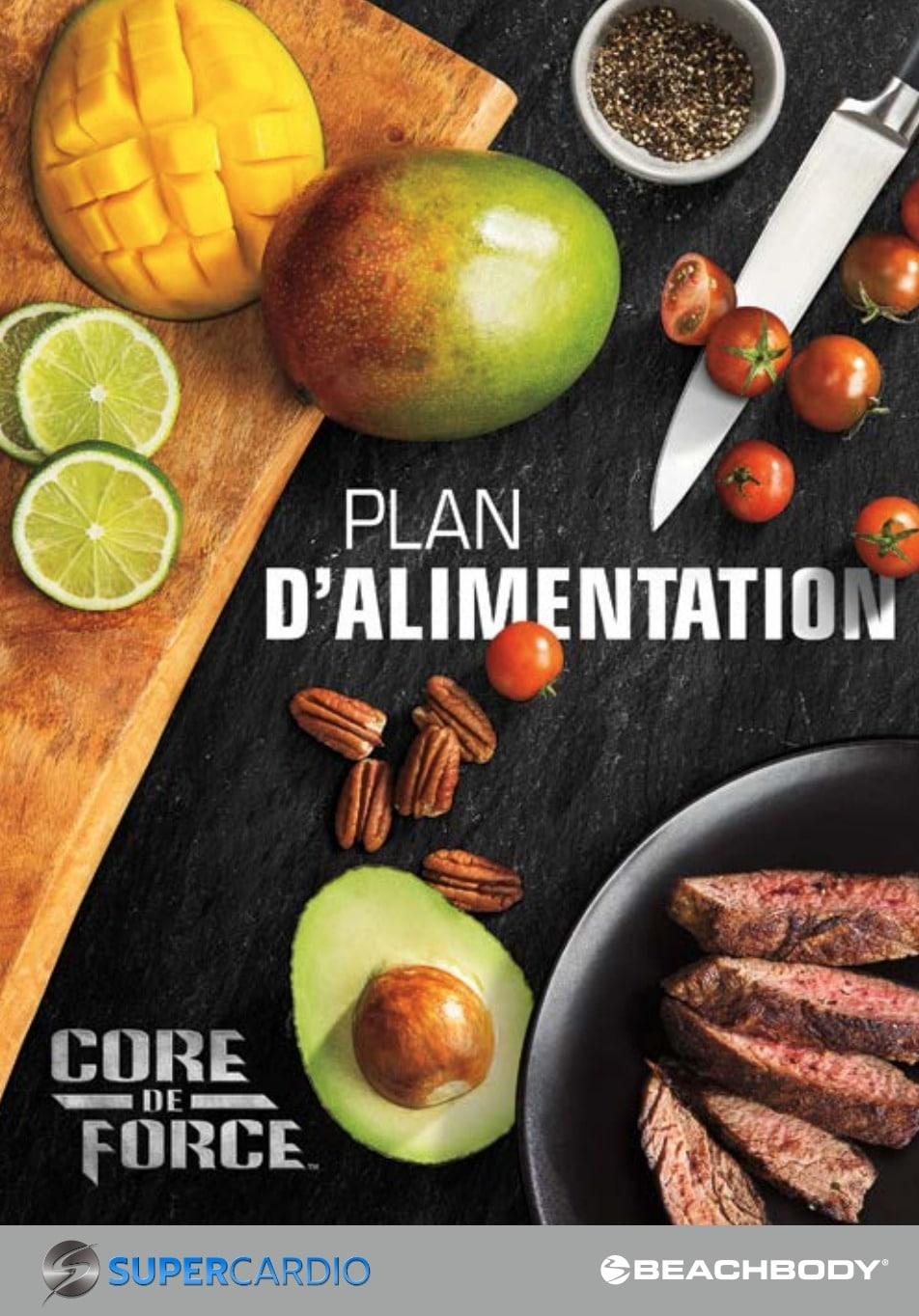 Guide alimentaire Core de Force