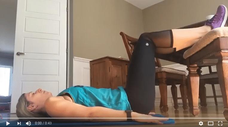 Exercices FESSES et ABDOS avec une CHAISE
