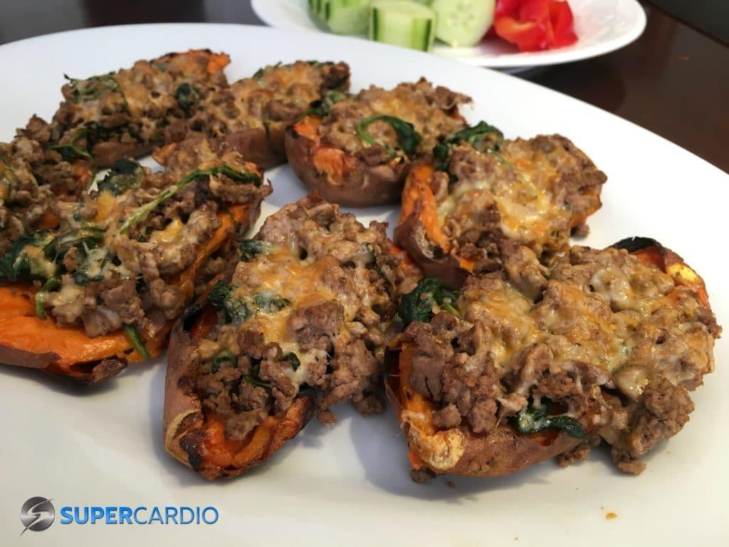 Pelures de patates douces farcies de style tacos supercardio for Assaisonnement tacos maison