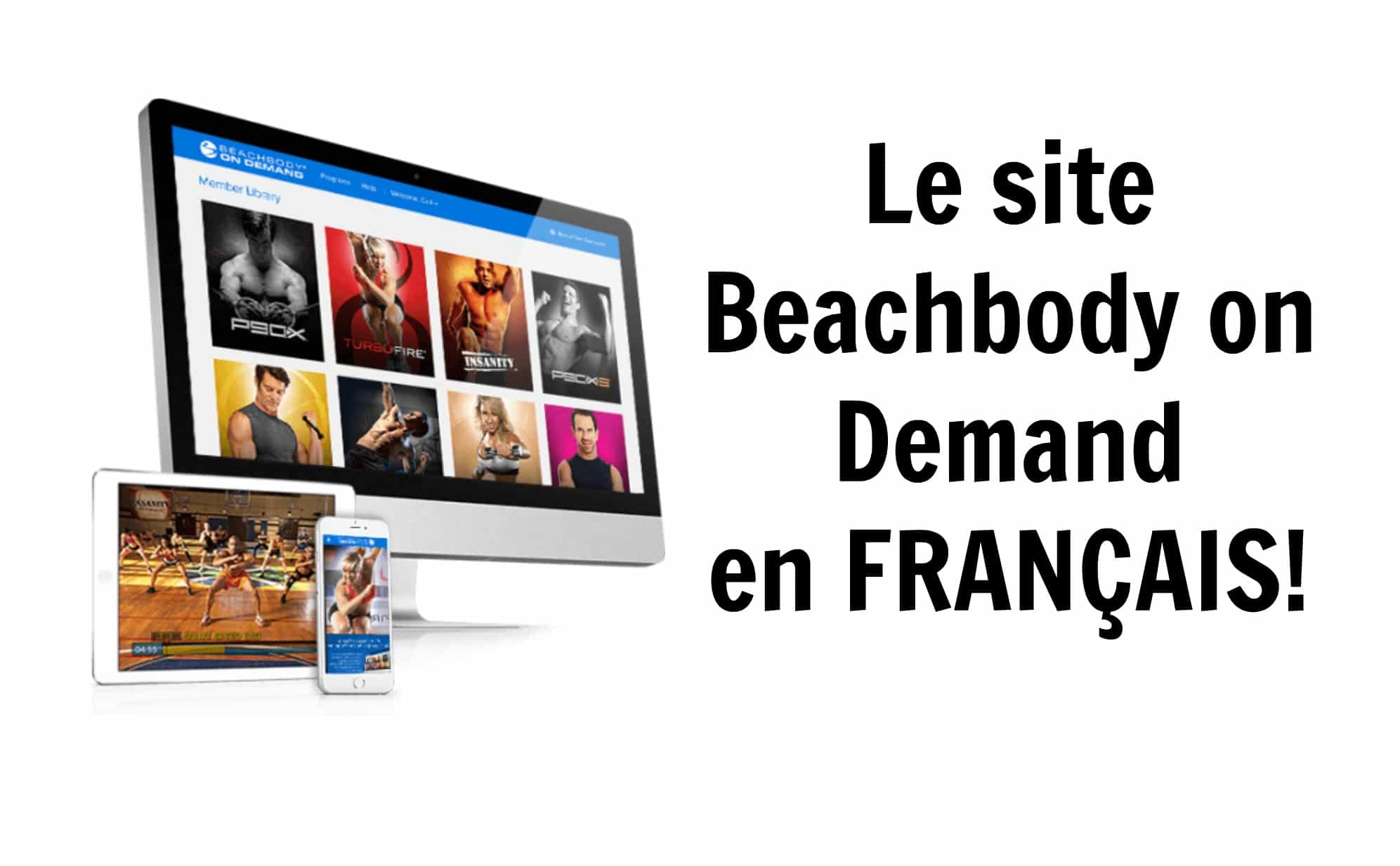 Comment changer Beachbody on Demand en français