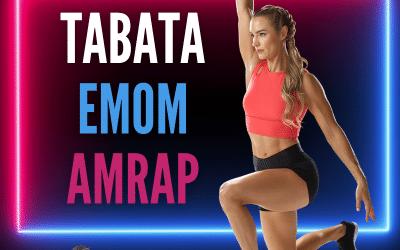 TABATA, EMOM et AMRAP 3 méthodes d'entrainement efficaces