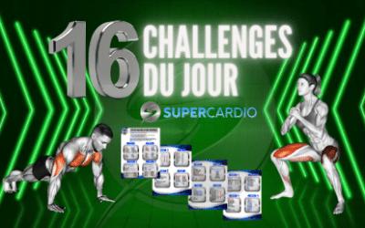 Les 16 challenges WOD Supercardio